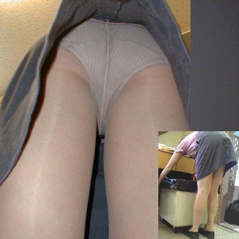 【盗撮】働く女は危険が多い★ワーキング女子のパンチラエロ画像 m9(`・ω・´)・9枚目の画像