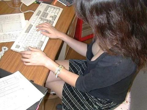 【盗撮】働く女は危険が多い★ワーキング女子のパンチラエロ画像 m9(`・ω・´)・36枚目の画像