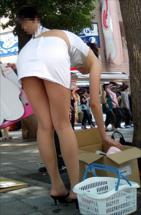 【盗撮】働く女は危険が多い★ワーキング女子のパンチラエロ画像 m9(`・ω・´)・6枚目の画像