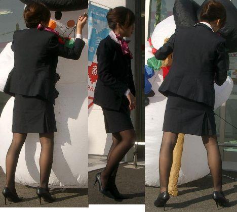 【盗撮】働く女は危険が多い★ワーキング女子のパンチラエロ画像 m9(`・ω・´)・19枚目の画像