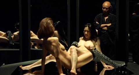 小向美奈子の吊るし上げ★AVに出る前の過激な貝合わせ・おっぱいエロ画像(`・ω・´)・1枚目の画像