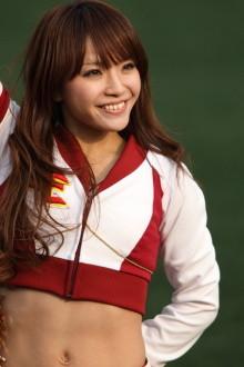 チアガール画像★日本シリーズも終わったし今年頑張ったプロ野球のチアガールのヘソ出し、また開きエロ画像wwwww・39枚目の画像