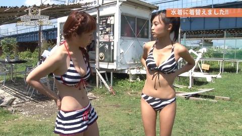 小島瑠璃子(こじるり)のテレビで映ったおっぱい見せつけお色気シーンのエロ画像wwwwwww・33枚目の画像