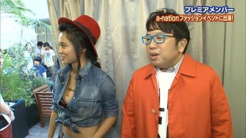 小島瑠璃子(こじるり)のテレビで映ったおっぱい見せつけお色気シーンのエロ画像wwwwwww・8枚目の画像