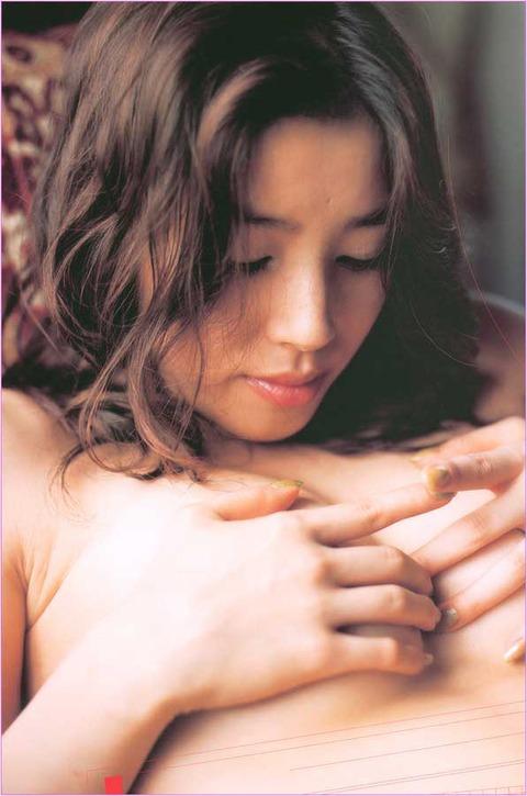 【嘉門洋子】Eカップ惜しげもなく…フルヌード!!33歳で衝撃AVデビューはびびったよねw 嘉門洋子のヘアヌード画像・32枚目の画像