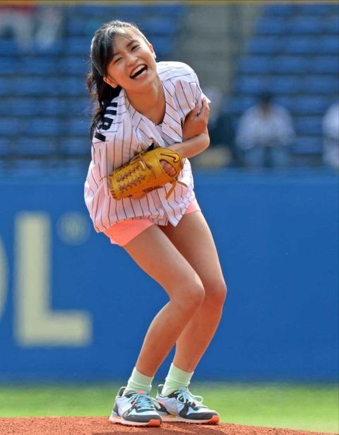 始球式のエロさが異常wwwwww★芸能人始球式エロ画像!・37枚目の画像