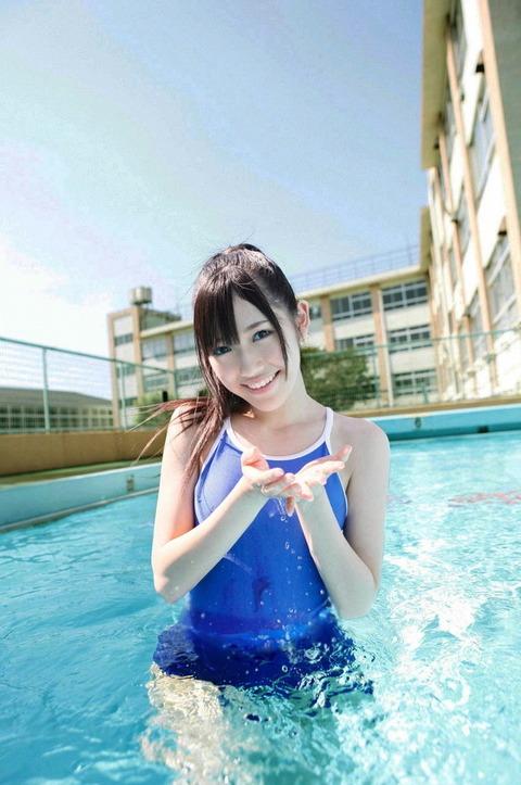 スク水の中でもエロよりのスク水姿がこれwwwwww★エロ画像・23枚目の画像