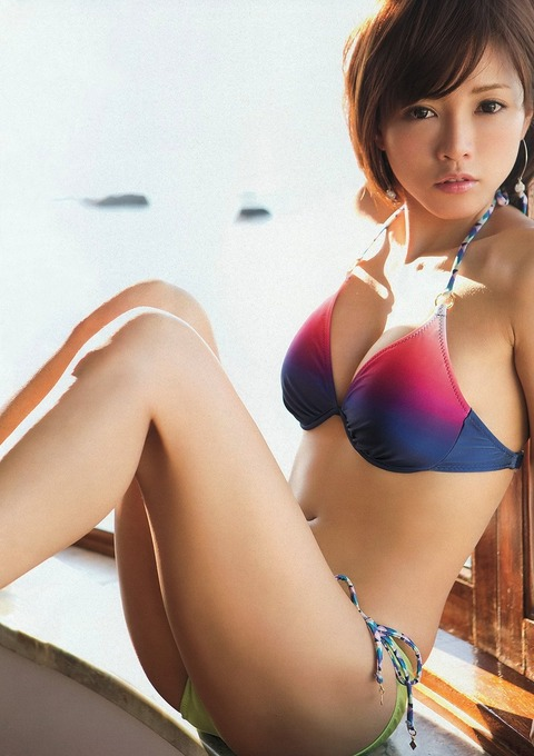 釈由美子が36歳のくせにビキニ姿がエロすぎるwwwwww★釈由美子エロ画像・1枚目の画像