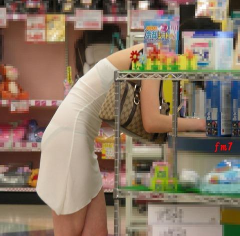 教えてあげたらセクハラ扱い不可避な透けパン女子のエロ画像31枚・21枚目の画像