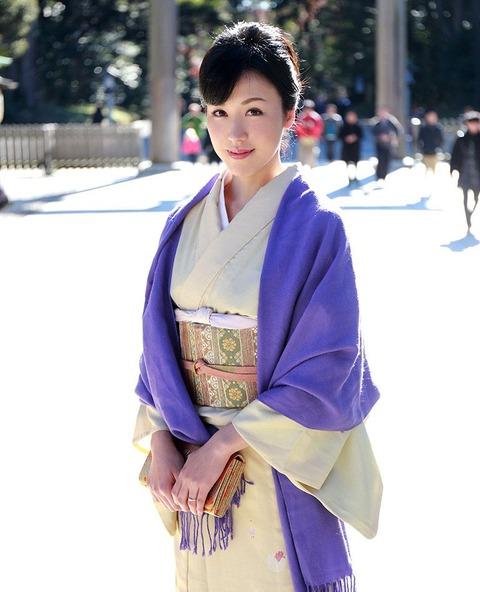 【個人撮影】地元の初詣で着物姿の元カノ(既婚)と遭遇!←もちろん即ハメwwwwwwハメ撮りエロ画像★・7枚目の画像