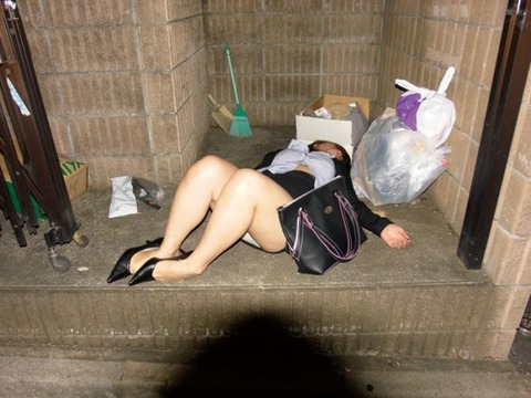 【ヤリサーの実態】新年会で泥酔した女の末路・・・・・・・・(画像あり)・25枚目の画像