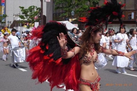 サンバカーニバルを日本で開催←露出狂が殺到wwwwwwww(画像あり)・25枚目の画像