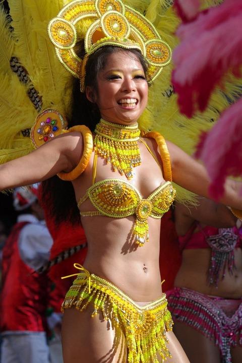 サンバカーニバルを日本で開催←露出狂が殺到wwwwwwww(画像あり)・16枚目の画像